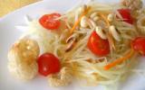 Salade de papaye verte économique