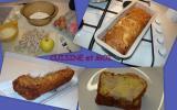 Cake au pommes et boudin blanc