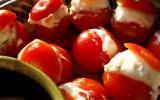 Tomates cerises garnies