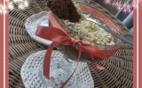 Mousse au chocolat parsemez de chocolat blanc
