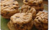 Cookies au beurre de cacahuetes et pépites de chocolat