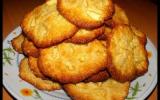Cookies pommes, miel et noix de coco