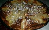 Clafoutis aux poires et aux pistaches