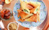 Samossas aux épinards et Délice de Poulet Isla Délice Halal