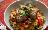 """Couscous de quinoa et boulettes d""""agneau, sans gluten"""