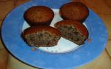 Muffin chocolat noisette