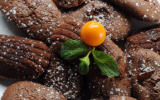 Madeleine au chocolat fondant