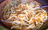 Nouilles sautées végétariennes