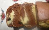 Gâteau marbré classique