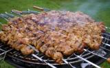 Brochettes d'agneau à la marocaine