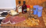 Magrets de canard aux figues et aux abricots