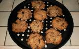 Cookies aux pépites de chocolat (levés au bicarbonate de soude)