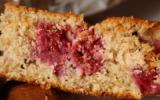 Gâteau framboises, ricotta, noisettes