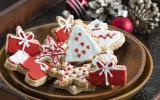 Sapin de Noël aux amandes et à la clémentine