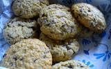 Cookie aux pépites de chocolat et flocons d'avoine