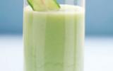 Gaspacho de concombre frais