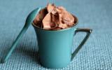 Mousse toute légère au chocolat noir (siphon)