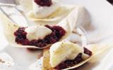 Croustillants de Cabécou du Périgord, marmelade de Griottes