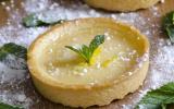 Tartelettes à la crème au citron