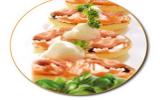 Toast au saumon maison