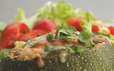 Courgettes rondes farcies végétariennes