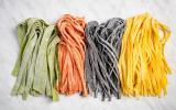 3 idées de pâtes fraîches colorées naturellement