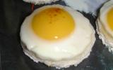 Toasts aux œufs de caille