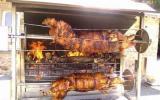 Cochon de lait à la broche (grill)