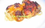 Cuisses de poulet aux abricots