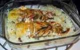 Langouste rôtie au curry et son riz au coco