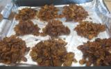 Roses des sables au chocolat maison