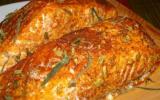 Saumon sur planche de cèdre rouge