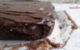 Fondant au chocolat, aux noisettes & son glaçage
