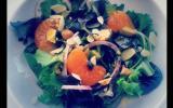 Salade colorée à la clémentine