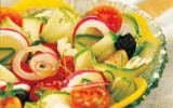 Salade grecque au Concombre et à la Tomate de France