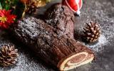 3 ingrédients à ajouter à une bûche de Noël au chocolat
