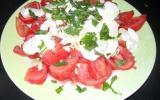 Tomates mozzarella au vinaigre de Xéres