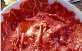 Carpaccio de bœuf rapide