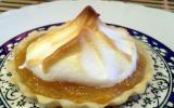 Tartelettes meringuées au kaki persimon