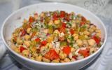 Salade de pois chiches à la turque