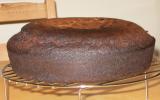 Génoise au chocolat noir