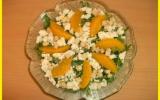 Salade de roquette aux oranges et féta