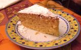 Gâteau fondant au amandes