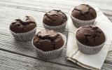 Muffins chocolat courgettes