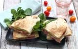 Quesadillas avocat et bacon
