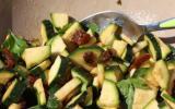 Salade de courgettes crues rapide