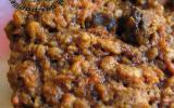 Biscuits très tendres aux carottes, raisins et écorces d'orange