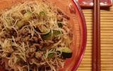 Nouilles de riz sautées au bœuf