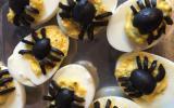 Oeufs mimosa d'Halloween