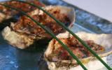 Huîtres d'Arcachon au beurre de radis roses